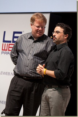 Ouriel Ohayon and Robert Scoble (2)