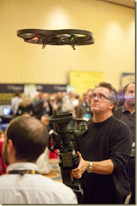 Parrot AD-Drone shown at the CES Unveiled Jan2010 (14)