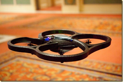 Parrot AD-Drone shown at the CES Unveiled Jan2010 (6)