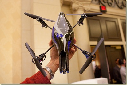 Parrot AD-Drone shown at the CES Unveiled Jan2010 (7)