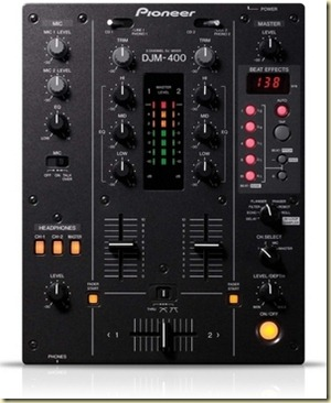 Pioneer Table de mixage DJM400