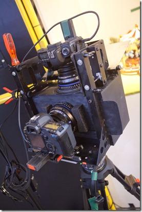 Prise de vue stéréoscopique avec Canon 5D II