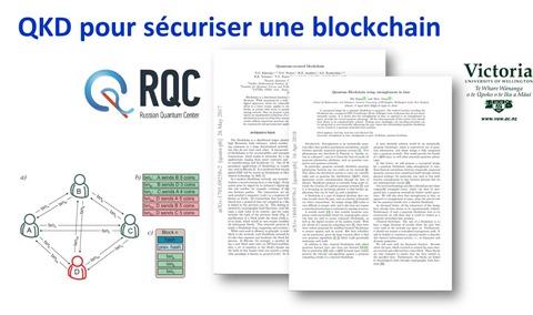 QKD Blockchain