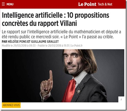 Rapport Villani dans Le Point