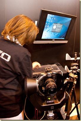 Robot Pilotage Réflex chez Gitzo