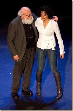 Sarah Kaminsky et son père @ TEDx Paris Jan2010 (10)