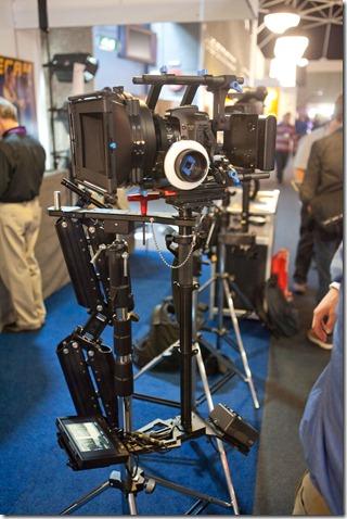 Stabilisateur Gliedecam pour Canon 5D II
