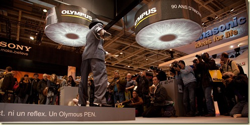 Stand Olympus au Salon de la Photo 2009