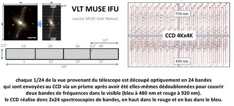 VLT MUSE IFU