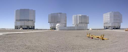 Very Large Telescope. Cerro Paranal