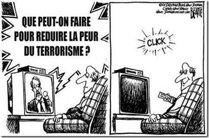 Réduire la peur du terrorisme