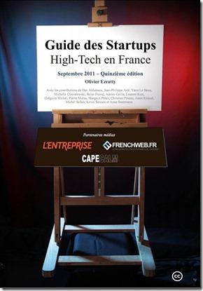 Couverture Guide Startups avec Partenaires Medias