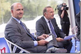 Pierre Gattaz et Pierre Moscovici (10)