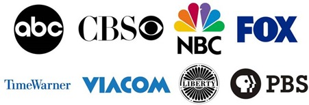 Logos groupes TV USA