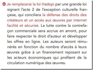 Proposition Hollande