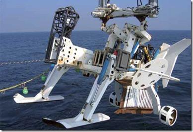 Systeme enfoissement de cable sous-marin