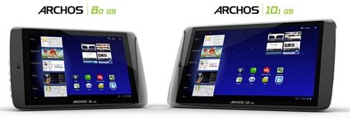 Tablettes Archos Gen9