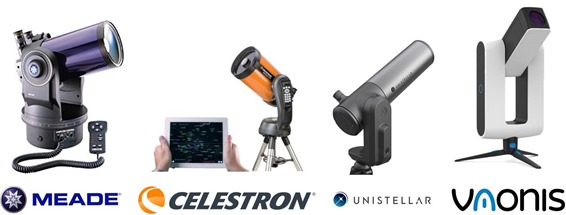 Telescopes amateurs