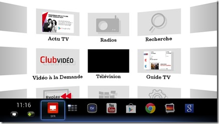 Decodeur SFR Google TV