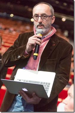 Guillaume Buffet (Renaissance Numérique posant question sur LPM à Arnaud Montebourg)