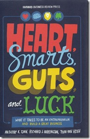 Hearts Smarts Guts Luck book cover