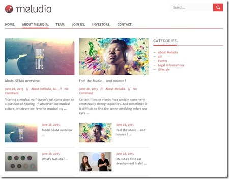 Meludia About Page