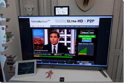 Streamroot (vu sur stand France Télévisions)