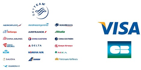 Skyteam Visa and CB