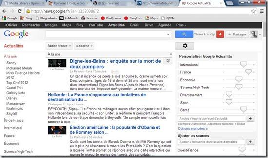 Google Actualite