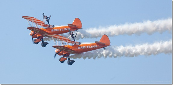 Girls On The Wings Of Breitling Planes Aerobatics Flying Circus (22)