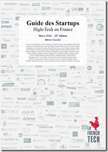 Guide des Startups 2016 Cover