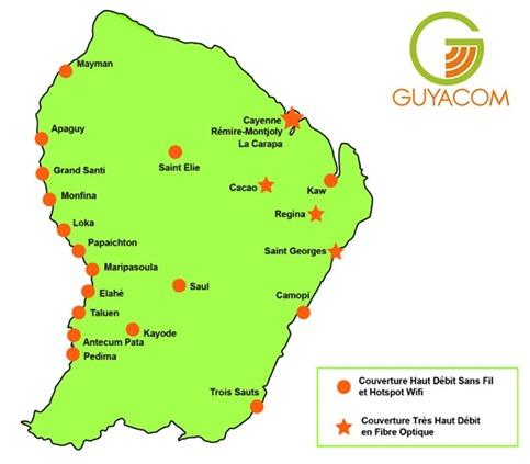 Couverture Guyacom Guyane