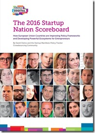 Startup Nation Scoreboard 2016