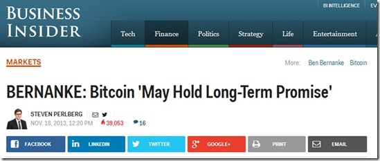 Bernanke Bitcoin Long Term Promise