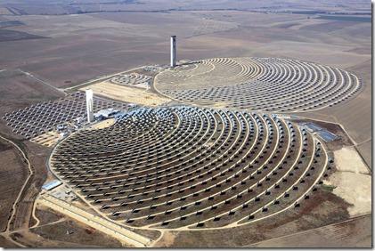 Centrale Solaire Thermique en Californie