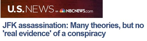 JFK MSNBC No conspiracy