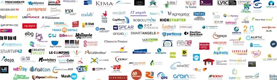 Logos Ecosysteme Startups France Mar2014