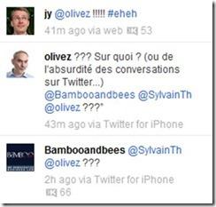 Twitter conversation absurde