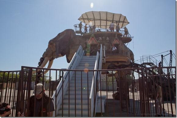 Nantes - Le grand éléphant