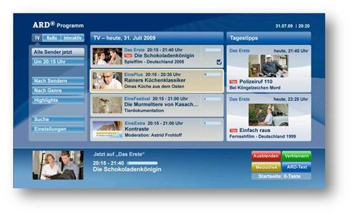 HbbTV chez ARD