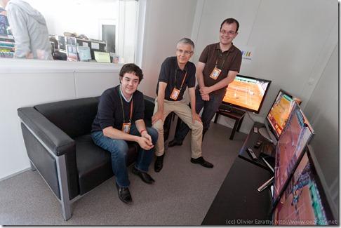 Nicolas Lisle Bernard Fontaine et Arthur Mayrand (France Television) (1)