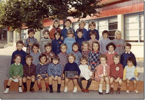 Ecole en 1972