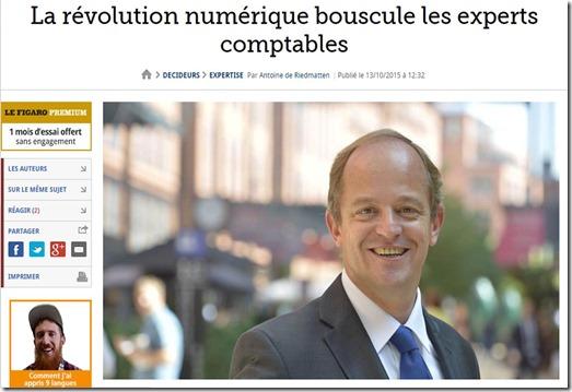 Revolution Numerique et Experts Comptables