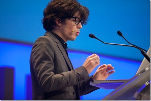 Olivier Desmoulin from SuperMarmitte @ LeWeb 2010 (4)