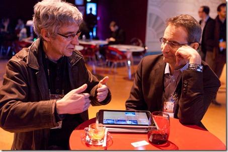 Jean-Marie Hulot and Bernard Liautaud LeWeb 2010 (2)