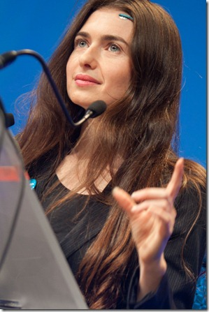 Ariel Garten from Interaxon @ LeWeb 2010 (8)