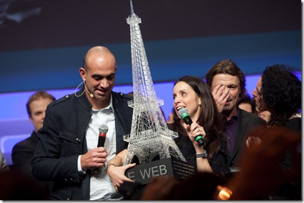 Geraldine et Loic Lemeur @ LeWeb 2010 (8)