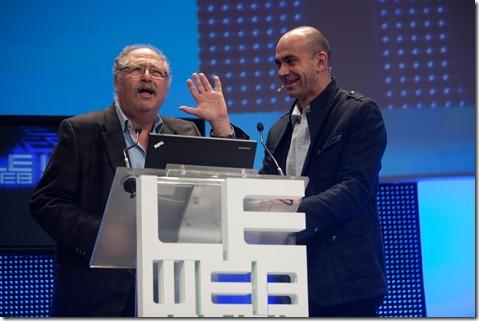 Yossi Yardi and Loic lemeur @ LeWeb 2010 (3)