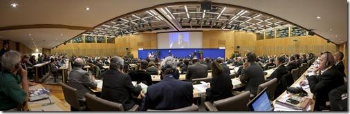 Panorama Salle de Conférence Bercy Mendès France