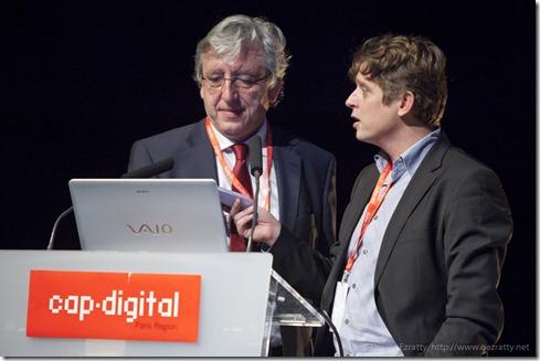 Patrick Cocquet et Henri Verdier (CapDigital)